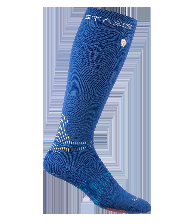 neuro socks knee high dunkelblau