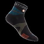neuro socks mini crew schwarz