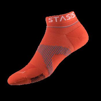 neuro socks no show orange socken